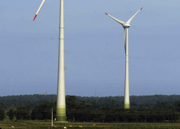 Tout est en place pour que le projet d'aménagement du parc  éolien... (Archives)