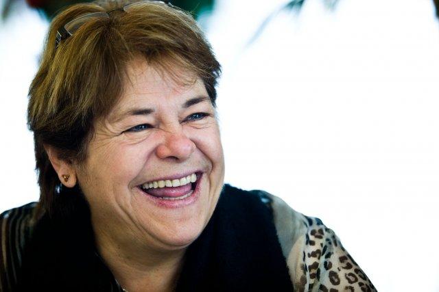 La mairesse de Bécancour, Gaétane Désilets.... (Photo: Olivier Croteau)