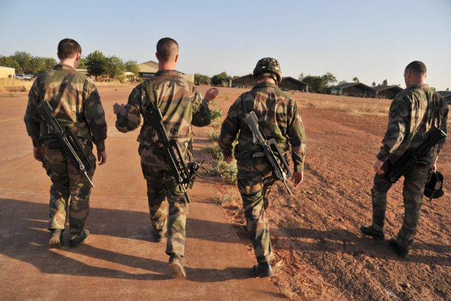 L'opération de «contre-terrorisme» lancée dans la nuit de... (PHOTO ISSOUF SANOGO, AFP)