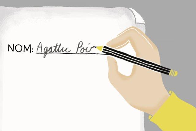 Les noms de famille composés - les Bureau-Blouin et Nadeau-Dubois de ce monde -... (Illustration: Charlotte Demers-Labrecque, La Presse)