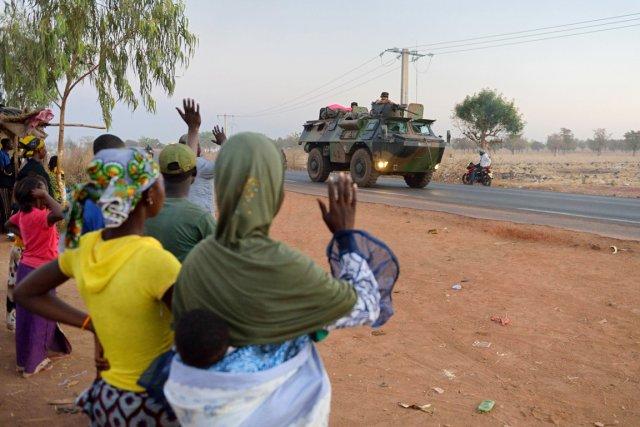 L'intervention de l'armée française a été un électrochoc... (PHOTO ERIC FEFERBERG, AFP)