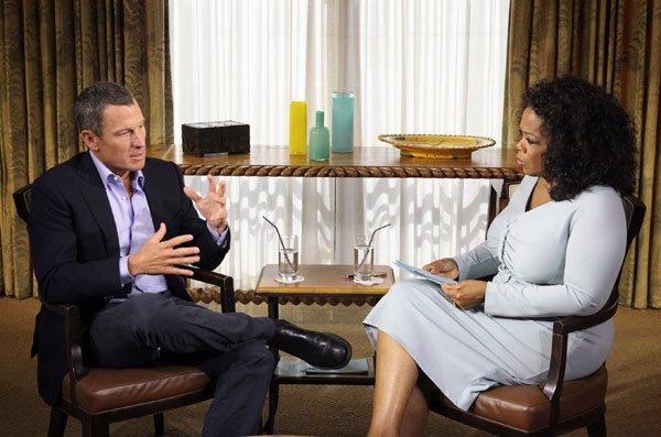 Lance Armstrong a confessé s'être dopé pendant une... (Photo courtoisie Harpo Studios)