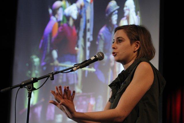 La comédienne Ève Landry, qui incarne Jeanne dans... (Photo: Martin Chamberland, La Presse)