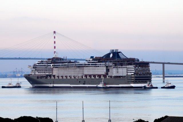 MSC Croisières classera le MSC Presioza dans sa... (Photo: Relaxnews)