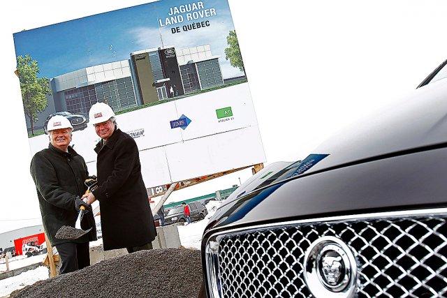 Le président de Jaguar et Land Rover Canada,... (Le Soleil, Yan Doublet)