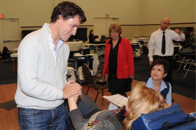 Justin Trudeau La D Fense De Lise St Denis Louise
