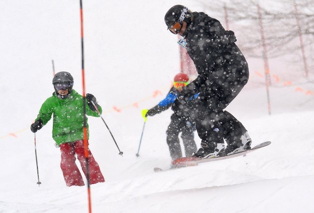 Non, les gestionnaires des stations de ski de la région n'ont pas le moral... (Imacom, Jocelyn Riendeau)