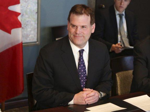John Baird, leministre des Affaires étrangères.... (PHOTO PATRICK DOYLE, REUTERS)