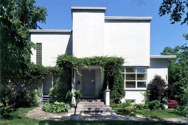 L 39 architecture moderne et son potentiel de patrimoine mich le laferri r - Architecture de villa moderne ...