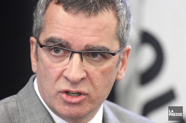 Le président-directeur général de l'Administration portuaire de Québec... (Le Soleil, Jocelyn Bernier)