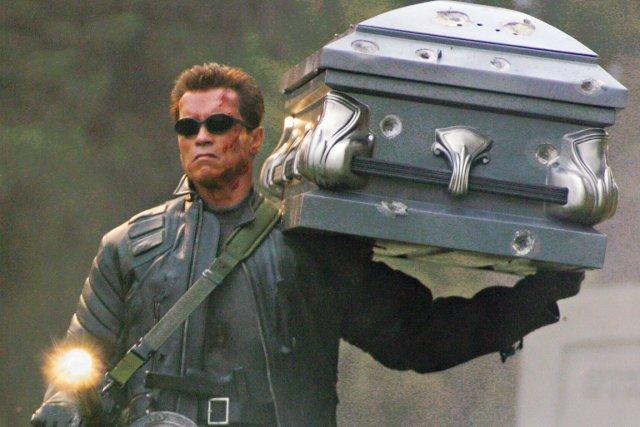 Arnold Schwarzenegger (ici dans une scène du film... (PHOTO ARCHIVES REUTERS)
