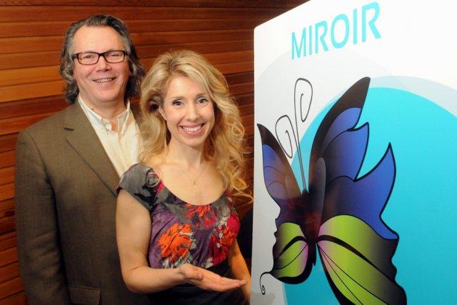 Johanne Thibeault, qui a développé le projet MIROIR... (Photo: François Gervais)
