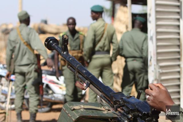 Vendredi, l'armée malienne a affirmé avoir repris la... (PHOTO HAROUNA TRAORE, AP)