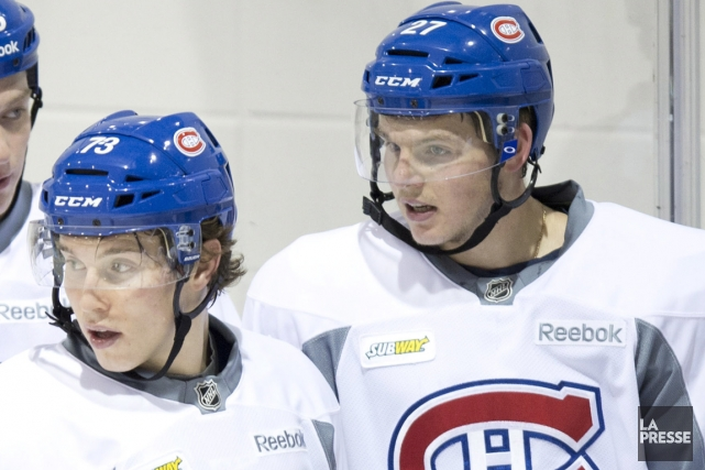 Les attaquants recrues Brendan Gallagher et Alex Galchenyuk... (Photo: PC)