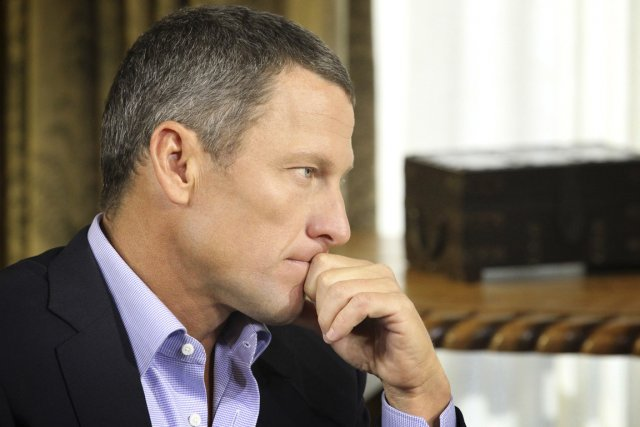 Lance Armstrong... (Photo Reuters)