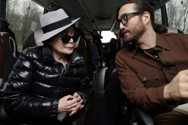 Yoko Ono et son fils Sean Lennon... (Photo: archives La Presse)