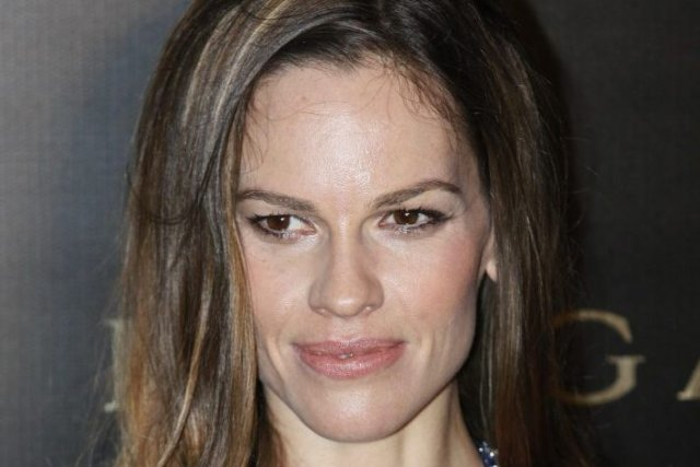 Hilary Swank... (Photo: AP)