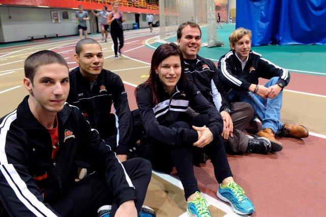 Encore cette année, l'entraîneur-chef Félix-Antoine Lapointe (quatrième à... (Le Soleil, Erick Labbé)