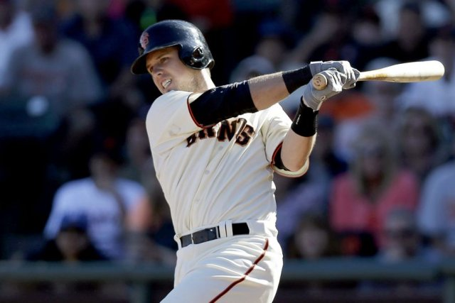 Buster Posey... (PHOTO BECK DIEFENBACH, REUTERS)