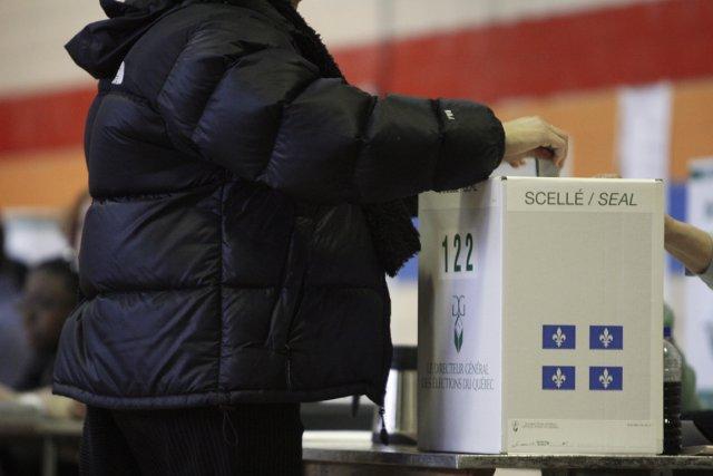 L'étude catégorise les électeurs en fonction de leur... (PHOTO ARCHIVES LA PRESSE)
