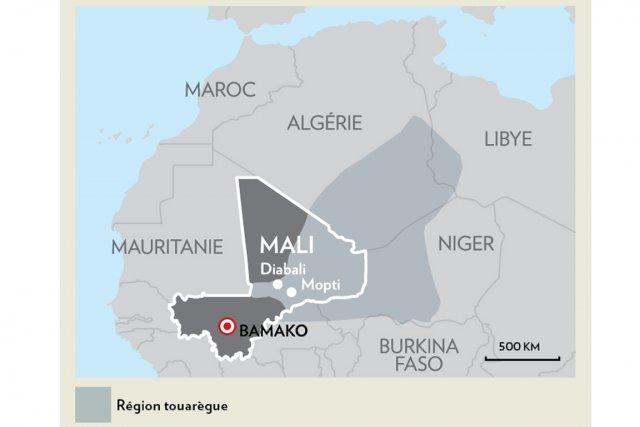 La Libye a joué un rôle important dans la renaissance de la rébellion touarègue...