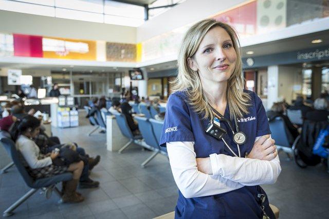 Le taux réel d'occupation à l'hôpital du Sacré-Coeur... (Photo: Olivier PontBriand, La Presse)