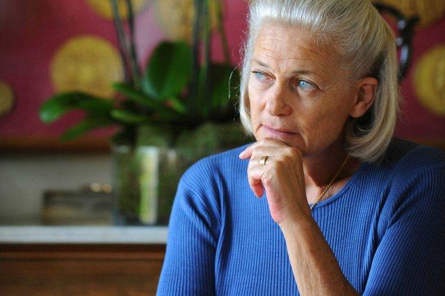 L'historienne féministe Élisabeth Badinter... (Photo La Presse)