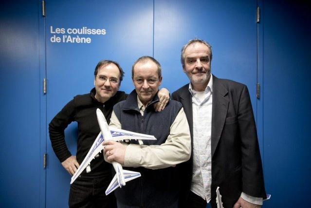 Yves Dubé, Normand Canac-Marquis et Daniel Meilleur, de... (Photo Marco Campanozzi, La Presse)