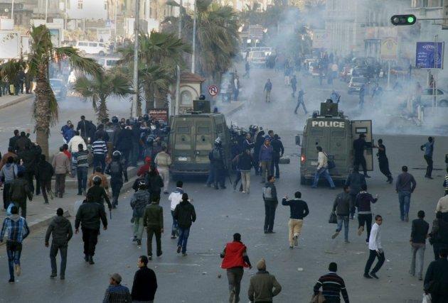 La confrontation est survenue une semaine avant que... (PHOTO AHMED RAMADAN, AP)