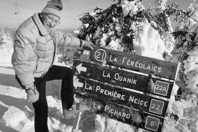 François Pichard entretenait depuis longtemps une grande passion... (Archives Le Soleil, Jean-Marie Villeneuve)
