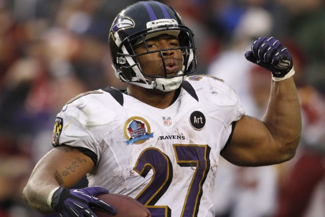 Le demi offensif Ray Rice devra connaître une... (Photo : Gary Cameron, Reuters)