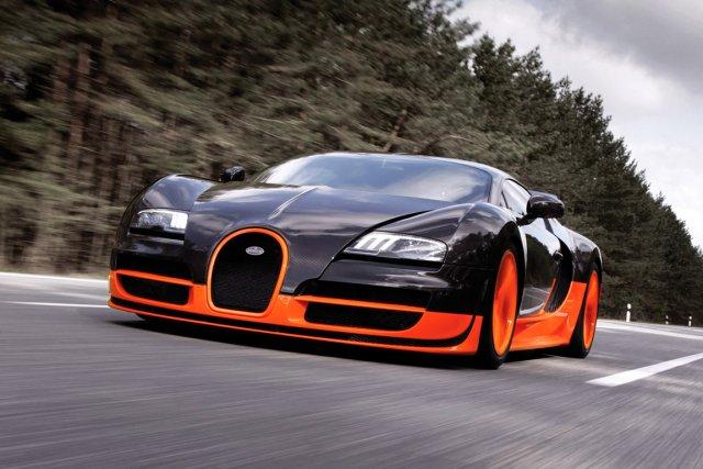 Bugatti Veyron Super Sport... (Photo fournie par Bugatti)