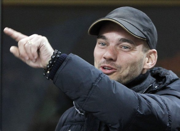 Wesley Sneijder... (Photo Reuters)