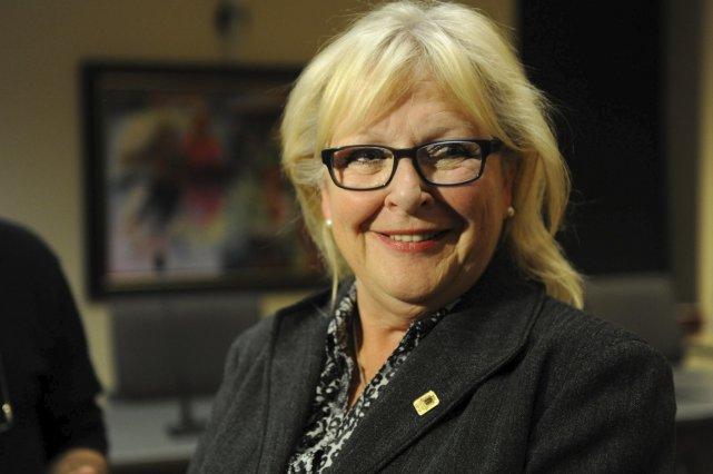 La mairesse Danielle Roy Marinelli aura contribué à... (Photothèque Le Soleil, Steve Deschênes)