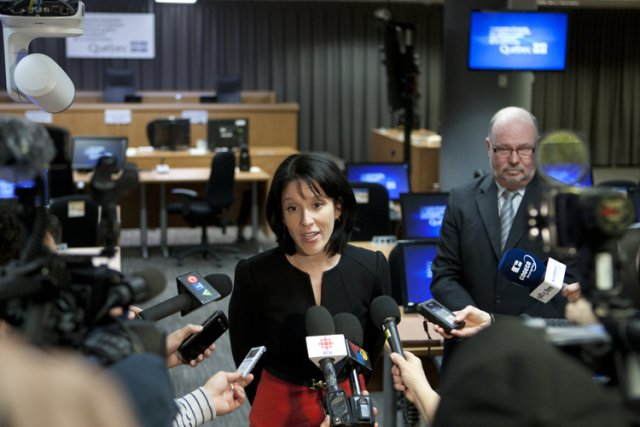 Me Sonia Lebel doit annoncer la nomination de... (Photo: Martin Chamberland, La Presse)