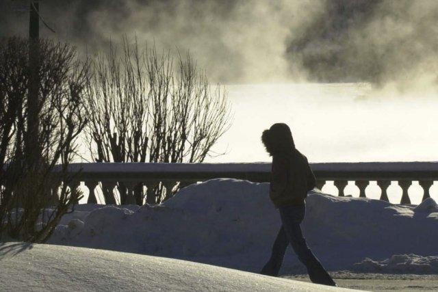 Une vague de froid est attendue au Québec.... (Photo: Sylvain Mayer)