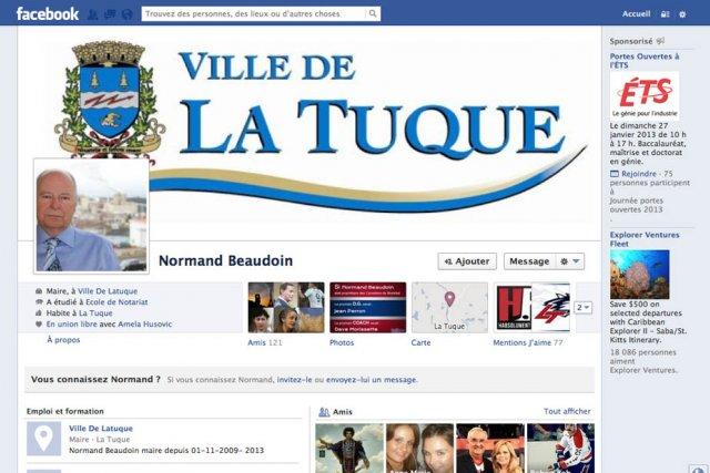 Le maire de La Tuque, Normand Beaudoin, n'est...