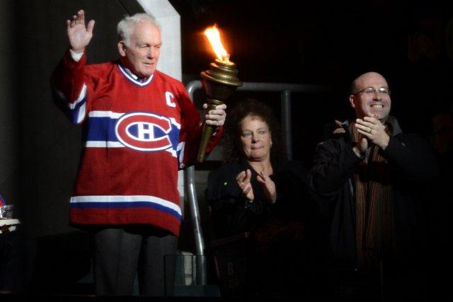 Nous avons vibré pendant la cérémonie d'avant-match, pour... (Photo: Bernard Brault, La Presse)