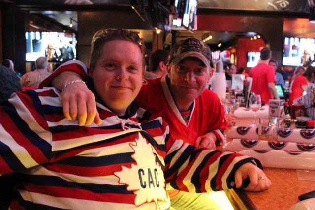Les partisans du Canadien de Montréal Patrick Milot... (Photo: Audrey Tremblay)