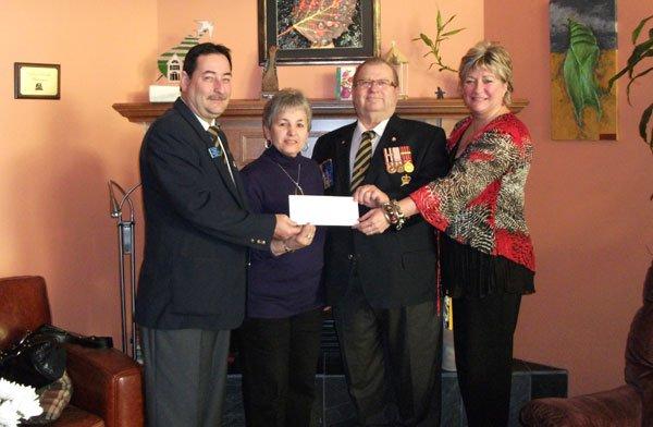 La filiale Norris 227 de la Légion Royale Canadienne, basée Gatineau, a... (Courtoisie)