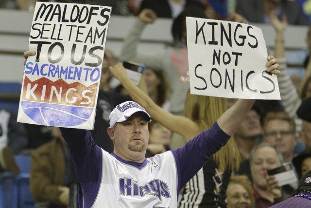 Tout indique que les Kings de Sacramento déménageront... (Photo: AP)