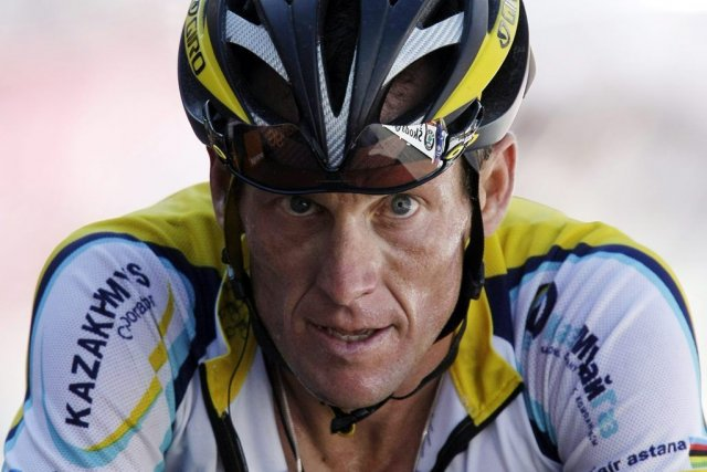 Lance Armstrong lors du Tour de France en... (Photo: archives La Presse)