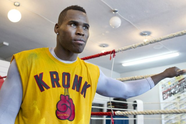 Adonis Stevenson... (Photo Robert Skinner, archives La Presse)