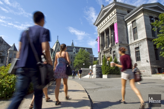 L'université doit rester un lieu d'effervescence intellectuelle.  Sur... (Photo: Alain Roberge, archives La Presse)