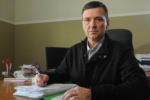 Jacques Turcotte de l'entreprise familiale DM Turcotte, est... (Photo: François Gervais)