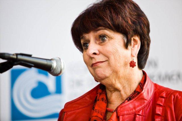 Stella Montreuil, directrice générale de Ciné-Campus.... (Photo: Olivier Croteau)