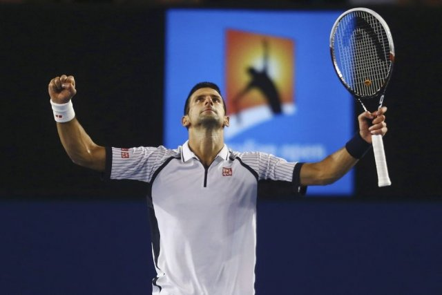 Novak Djokovic (photo) affrontera David Ferrer en demi-finale.... (Photo Scott Barbour, Reuters)