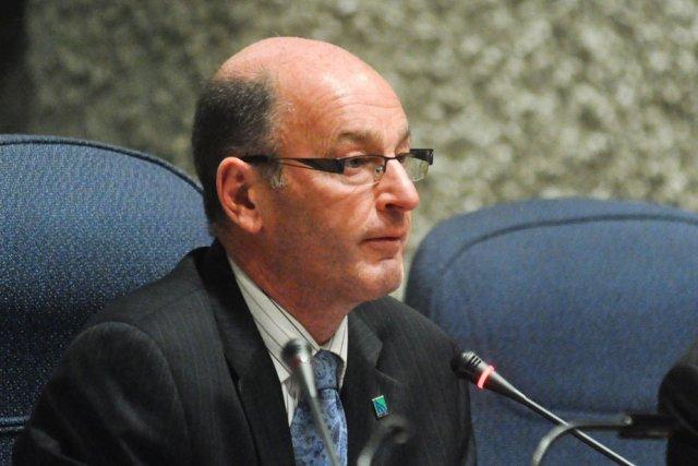 Le maire de Trois-Rivières, Yves Lévesque.... (Photo: Émilie O'Connor)