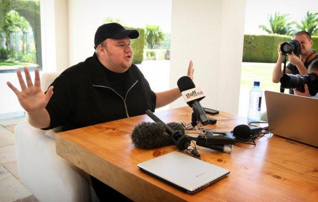 Le fondateur de Megaupload s'est excusé mardi, victime selon lui de son succès.