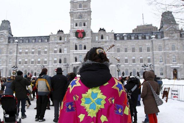 Solidaires, les autochtones ne se plaignent pas pour...